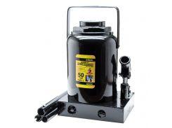 Домкрат гидравлический бутылочный 50т H 300-480мм Sigma (6101501)