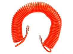 Шланг спиральный полиэтиленовый (PЕ) 15м 6.5×10мм Grad (7011385)