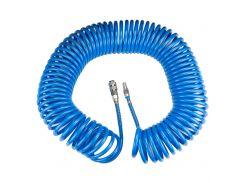 Шланг спиральный полиуретановый (PU) 20м 6.5×10мм Sigma (7012141)