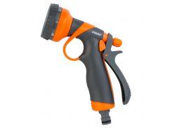 Пистолет распылитель 8-ми режимный (ABS+TPR) FLORA (5011354)