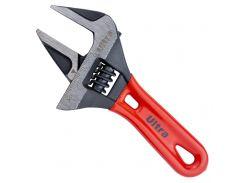 Ключ разводной с тонкими губками укороченный 140мм, 0-34мм CrV Ultra (4100222)