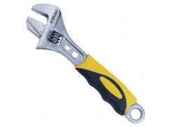 Ключ разводной с переставной губкой 150мм, 0-24мм CrV (TPR) Sigma (4100911)