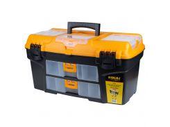 Ящик для инструмента со съёмными органайзерами и консолью 534×291×280мм Sigma (7404141)