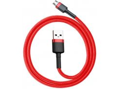 Кабель Baseus cafule Cable USB For Micro 1.5A 2M Red+Red