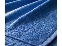 Полотенце махровое Egyptian blue