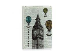 Обложка для паспорта ZIZ Лондон-Париж (10079)
