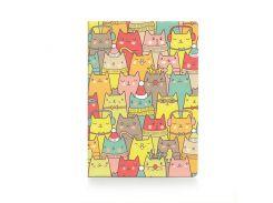 Обложка для паспорта ZIZ Зимние коты (10098)