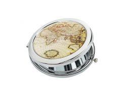 Карманное зеркало ZIZ Карта (27001)