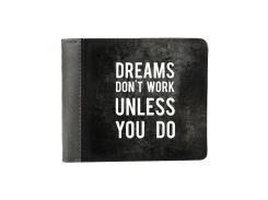 Кошелек ZIZ Мечты не работают, пока не работаешь ты (43015)