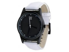 Часы ZIZ Black на кожаном ремешке + доп. ремешок + подарочная коробка (4100142)