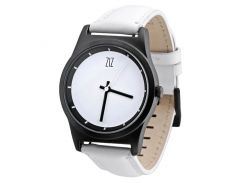 Часы ZIZ White на кожаном ремешке + доп. ремешок + подарочная коробка (4100242)
