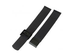Ремешок для часов ZIZ из нержавеющей стали (черный) (4700089)