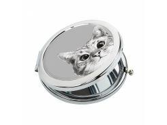 Карманное зеркало ZIZ Эй, Кот! (27029)