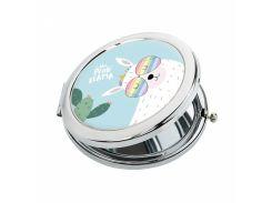 Карманное зеркало ZIZ Солнечная лама (27044)