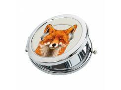 Карманное зеркало ZIZ Музыкальная лиса (27045)
