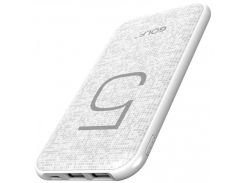 Внешний аккумулятор GOLF G24 5000mAh White