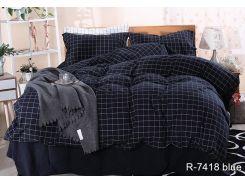 Комплект постельного белья R7418 blue