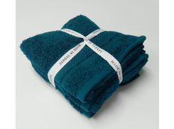 Набор полотенец 30х50 (3 шт) бирюза