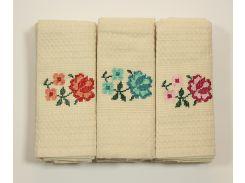 Набор полотенец Цветок (12 шт)