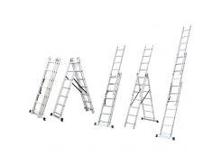 Лестница раскладывающаяся универсальная 12 ступенек Sigma (5032354)