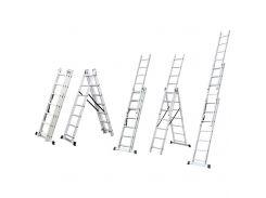 Лестница раскладывающаяся универсальная 9 ступенек Sigma (5032334)