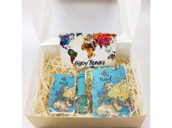 Подарочный набор ZIZ Карта путешествий