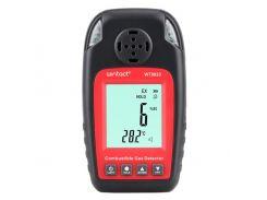 Детектор горючих газов + термометр (0-100%LEL, 0-50°C) WINTACT WT8823