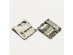Разъем гнездо sim сим карты Samsung Galaxy Duos S7562 Ace 2 I8160