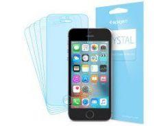 Защитная пленка Spigen Crystal 5x для iPhone SE/5S/5 (5 шт.)