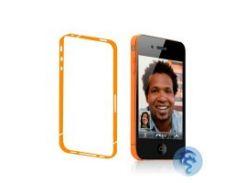 Оранжевая боковая защитная пленка для iPhone 4/4S