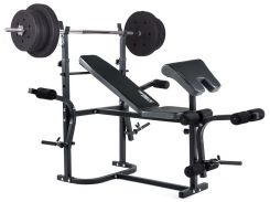 Скамья Trex 1020 тяга , скотта +  штанга 50 кг