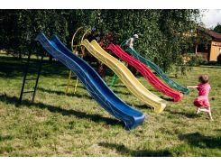 Детская горка 3м с металлической лестницей высота 1,5 м (разные цвета)