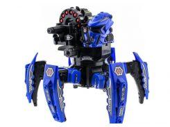 Робот-паук р/у Keye Space Warrior + ракеты/диски/лазер Синий (2711167451229)