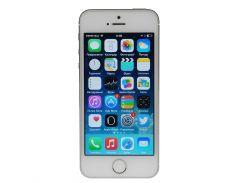Apple iPhone 5S 16GB Silver Refurbished (hub_NXtv69388)