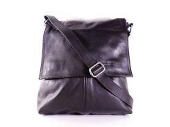 Сумка-шоппер Casa Familia итальянская кожаная BIX0-001 черный
