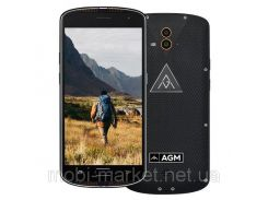 Защитный смартфон AGM X1  2 сим,5,5 дюйма,8 ядер,64 Гб,13/13 Мп,IP68.