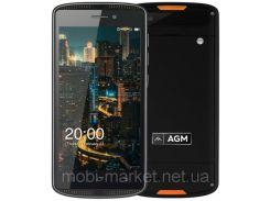 Защитный смартфон  AGM X1 Mini    2 сим,5 дюймов,4 ядра,16 Гб,8 Мп,4000 мА/ч,IPS,IP68.