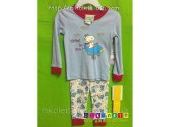 Пижама Детская Vintage Snoopy Трикотажная