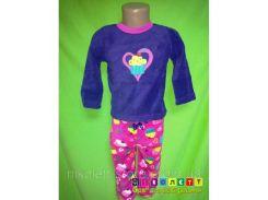 Пижама флисовая на девочку Healthtex