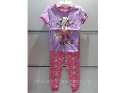 Пижама Детская GARANIMALS Трикотажная Короткий рукав