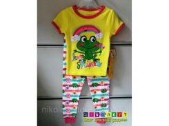 Пижама Детская Garanimals на девочку Короткий рукав