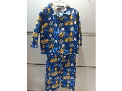 Пижама Детская Флисовая TUFF GUYS на Мальчика