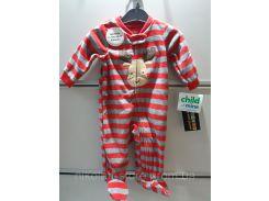 Слипер Человечек Флисовые Детский Пижама