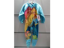 Слипер Детский Disney Микрофлисовый Человечек Пижама