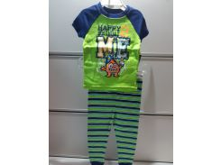 Пижама Детская FADED GLORY Трикотажная На Мальчика