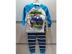 Пижама Детская GARANIMALS Трикотажная На Мальчика