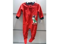 Слипер Флисовый Человечек  Пижама детская