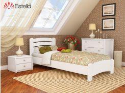 Кровать Венеция Люкс 90*200(массив)