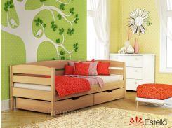 Деревянная кровать Нота Плюс(щит)90*200