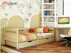 Кровать НОТА (массив) 80*190